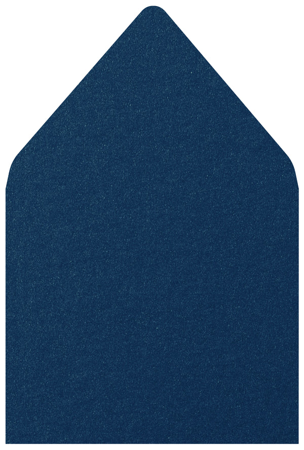 A-7.5 Dark Blue Metallic - Euro Flap Envelope Liner