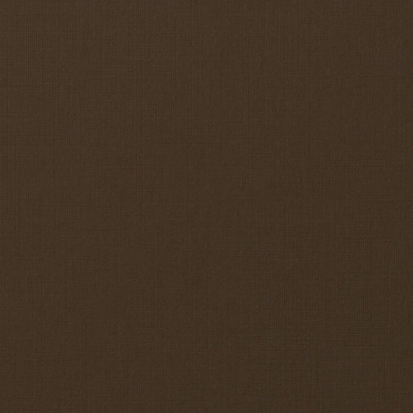 Dark Brown Linen Card Stock 80#, 8 1/2