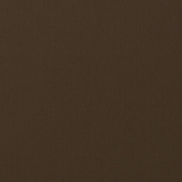 Dark Brown Linen Card Stock 80 lb, 5