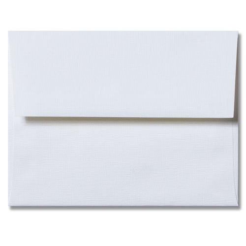 A-7 White Canvas Envelopes (5 1/4
