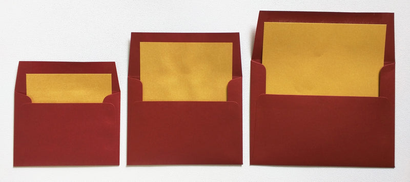 A-1 Classic Ivory Solid - Square Flap Envelope Liner - Paperandmore.com