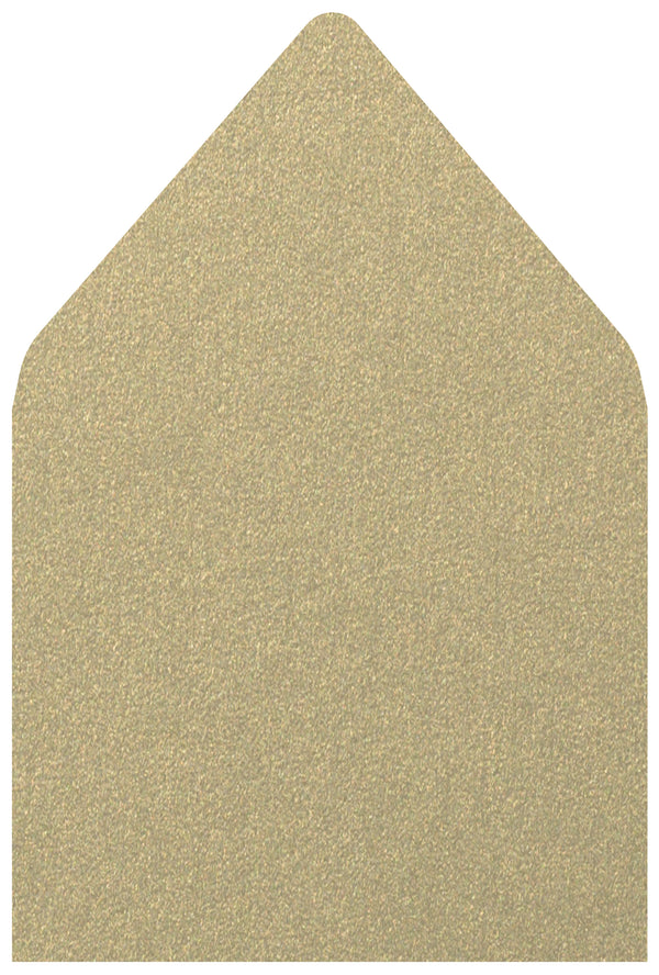 A-7.5 Gold Leaf Metallic - Euro Flap Envelope Liner