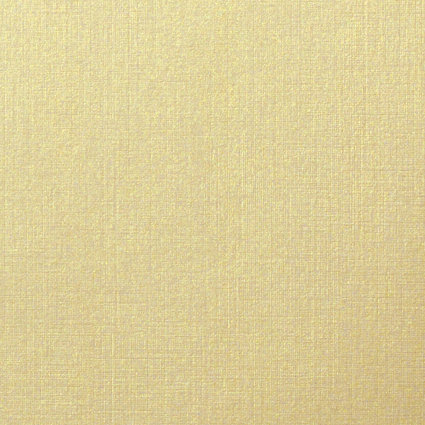 "Metallic Gold Linen Card Stock 84#, 4 Bar Card (3 1/2"" x 4 7/8"") - Paperandmore.com"