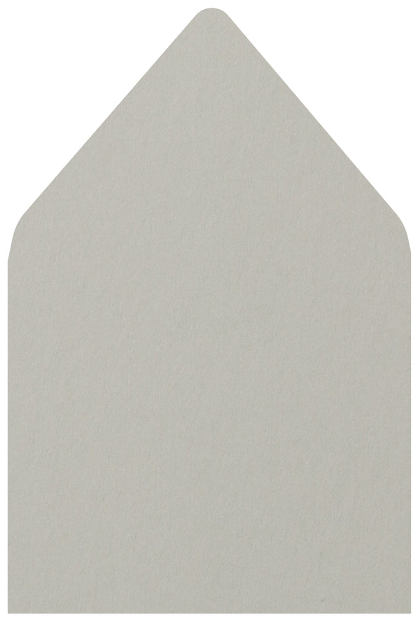A-7.5 Gray Smoke Solid - Euro Flap Envelope Liner