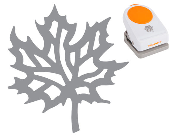 Fiskars Intricate Punch - Autumn Flair - Paperandmore.com