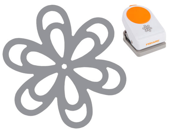 Fiskars Intricate Punch - Floral Frenzy - Paperandmore.com