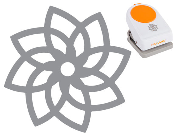 Fiskars Intricate Punch - Petals on Point - Paperandmore.com
