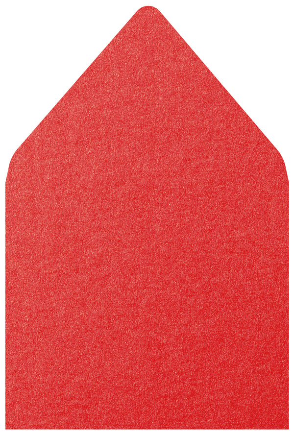 A-7.5 Jupiter Red Metallic - Euro Flap Envelope Liner