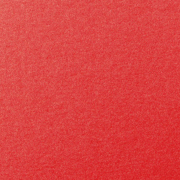 "Jupiter Red Metallic Card Stock 105 lb, 8 1/2"" x 11"" - Paperandmore.com"