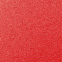 "Jupiter Red Metallic Card Stock 105 lb, 5"" x 7"""