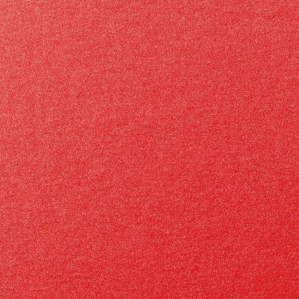 Jupiter Red Metallic Card Stock 105 lb, 8 1/2