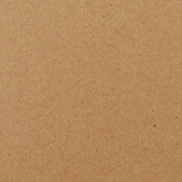"Kraft Brown Recycled Monogram Squares - 2 1/4"" - Paperandmore.com"