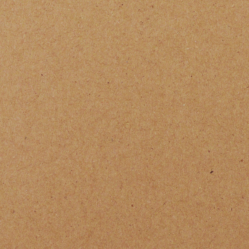 "Kraft Brown Recycled Cardstock 130#, 5"" x 7"" - Paperandmore.com"
