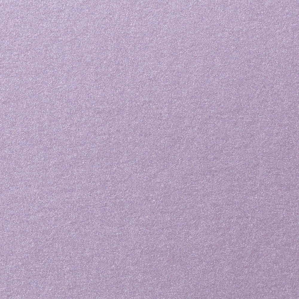 "Lavender Metallic Card Stock 105#, 5"" x 7"""