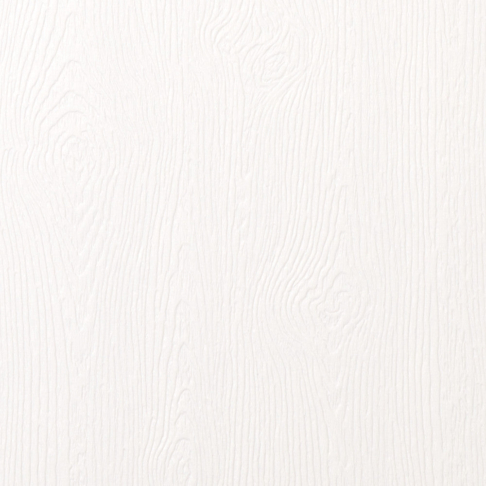 "Limba White Embossed Wood Grain Paper 68# Text, 8 1/2"" x 11"""