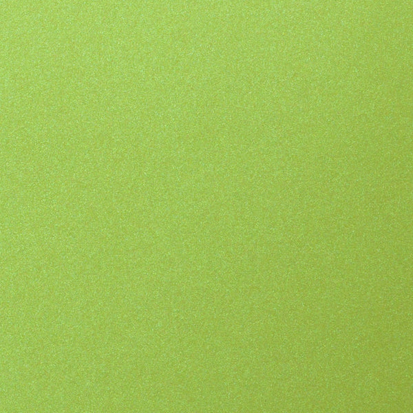 "Lime Green Satin Metallic Card Stock 92#, 12"" x 12"" - Paperandmore.com"