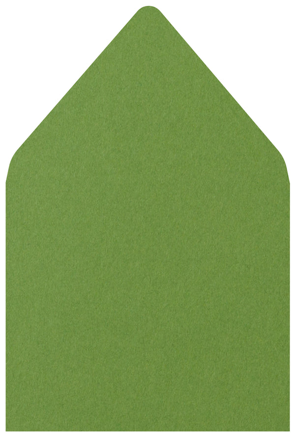 A-7 Meadow Green Solid - Euro Flap Envelope Liner