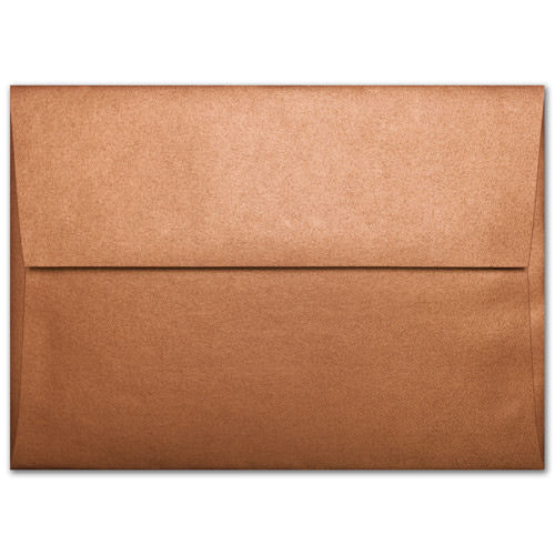 "A-6 Copper Metallic Envelopes (4 3/4"" x 6 1/2"") - Paperandmore.com"