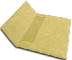 A-10 Metallic Light Gold Translucent Vellum Envelopes (6