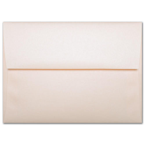 "A-8 Peach (Coral) Metallic Envelopes (5 1/2"" x 8 1/8"") - Paperandmore.com"