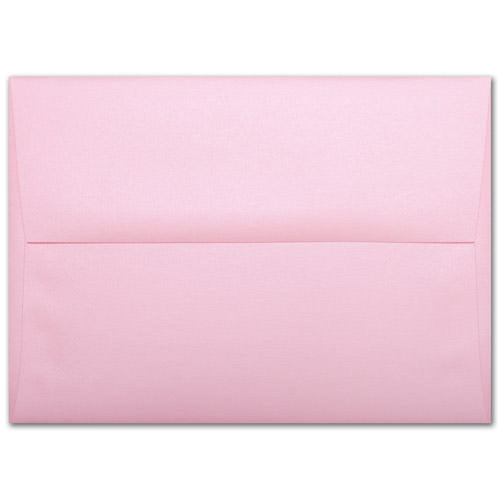 A-8 Rose Pink Metallic Envelopes (5 1/2
