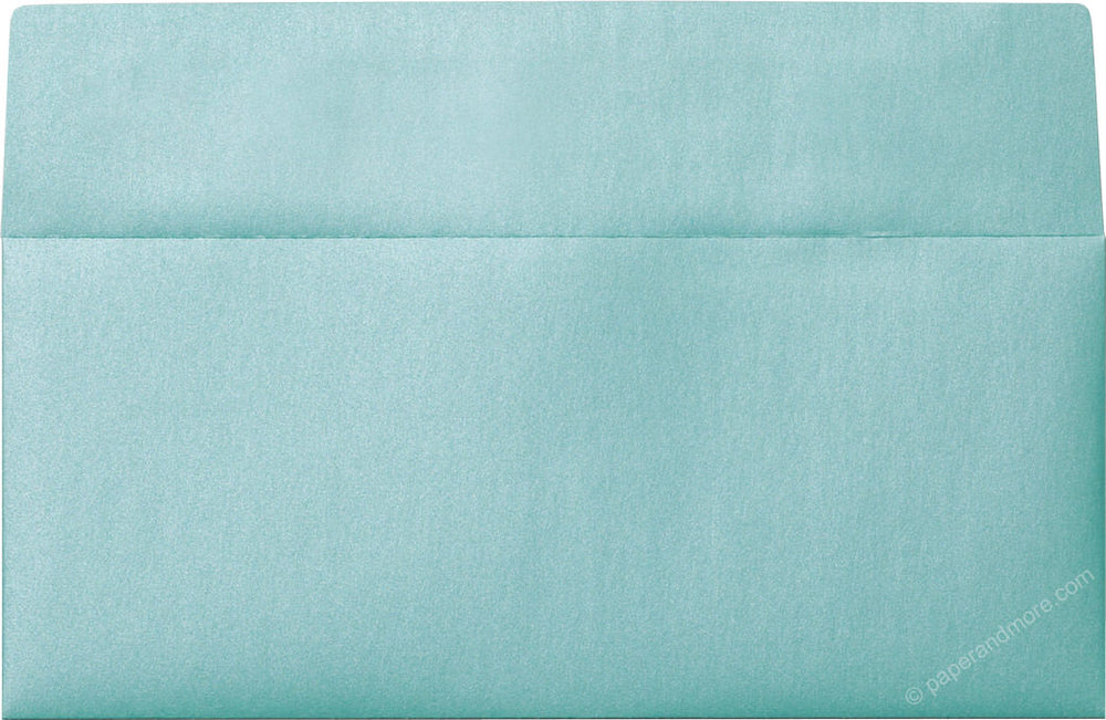 "#10 Aqua Lagoon Metallic Envelopes (4 1/8"" x 9 1/2"")"