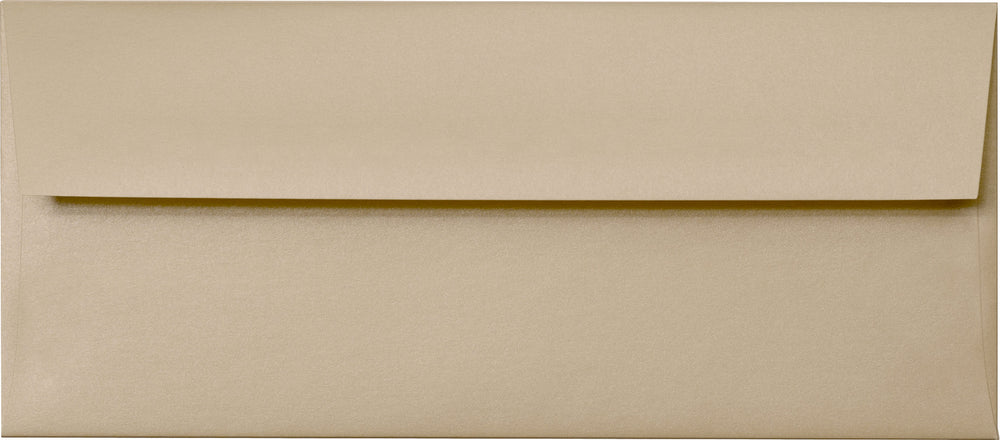 "#10 Beige Sand Metallic Envelopes (4 1/8"" x 9 1/2"")"