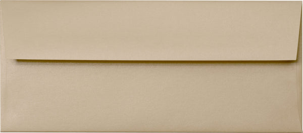 #10 Beige Sand Metallic Envelopes (4 1/8