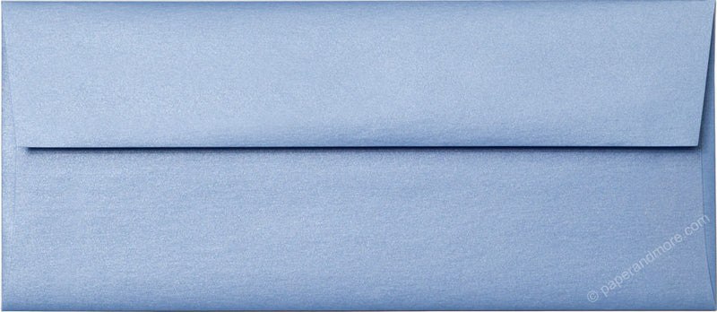 "#10 Blue Vista Metallic Envelopes (4 1/8"" x 9 1/2"") - Paperandmore.com"