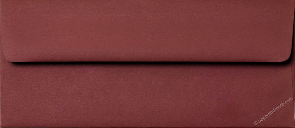 "#10 Burgundy Solid Envelopes (4 1/8"" x 9 1/2"") - Paperandmore.com"