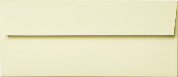 #10 Natural Cream Linen Envelopes (4 1/8