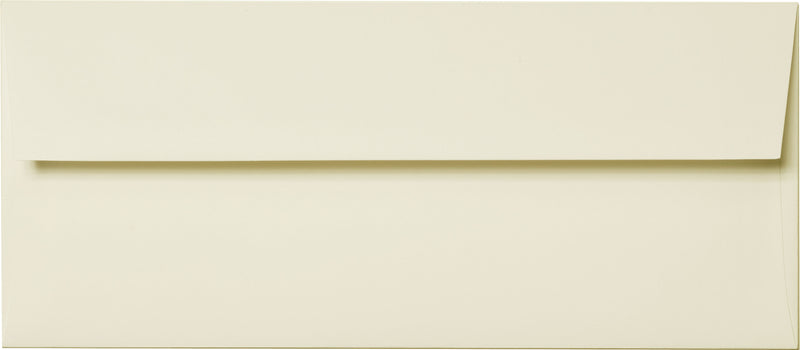 "#10 Classic Natural Cream Solid Envelopes (4 1/8"" x 9 1/2"") - Paperandmore.com"