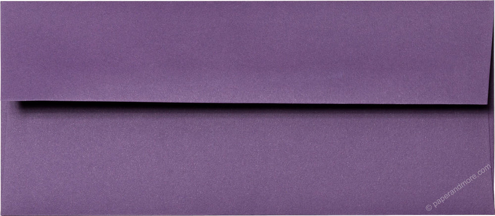 "#10 Dark Purple Solid Envelopes (4 1/8"" x 9 1/2"")"