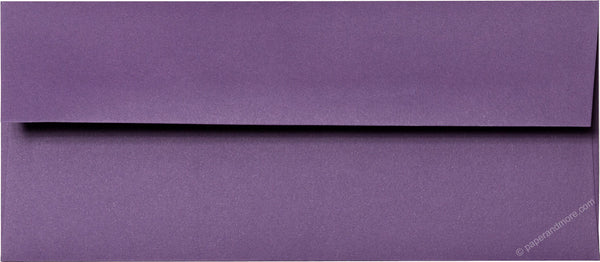 "#10 Dark Purple Solid Envelopes (4 1/8"" x 9 1/2"") - Paperandmore.com"