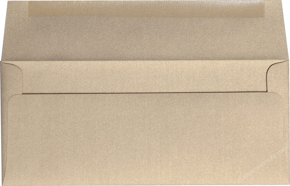 "#10 Gold Leaf Metallic Envelopes (4 1/8"" x 9 1/2"")"