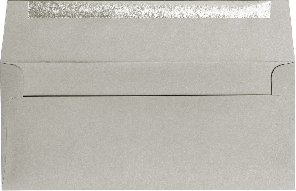 "#10 Gray Smoke Solid Envelopes (4 1/8"" x 9 1/2"")"
