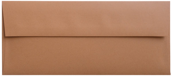 #10 Kraft Brown Raw Recycled Envelopes (4 1/8