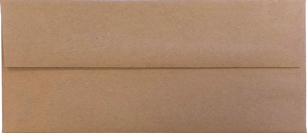 "#10 Brown Kraft Recycled Envelopes (4 1/8"" x 9 1/2"") (Discontinued) - Paperandmore.com"