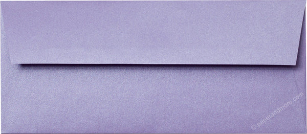 "#10 Lavender Metallic Envelopes (4 1/8"" x 9 1/2"") - Paperandmore.com"