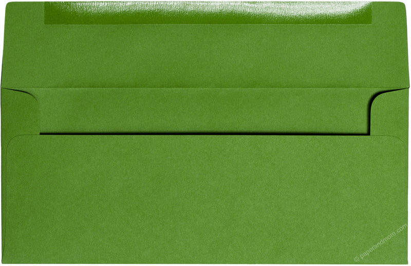 "#10 Meadow Green Solid Envelopes (4 1/8"" x 9 1/2"") - Paperandmore.com"