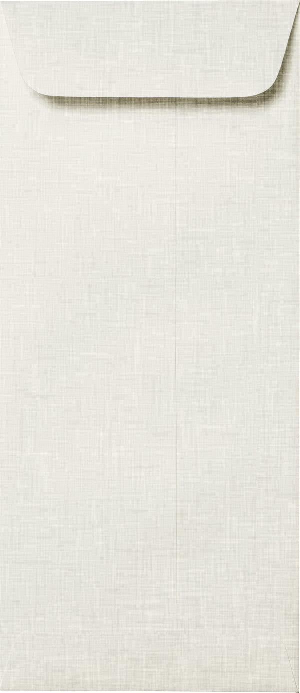"#10 Policy Bright White Linen Envelopes (4 1/8"" x 9 1/2"") - Paperandmore.com"