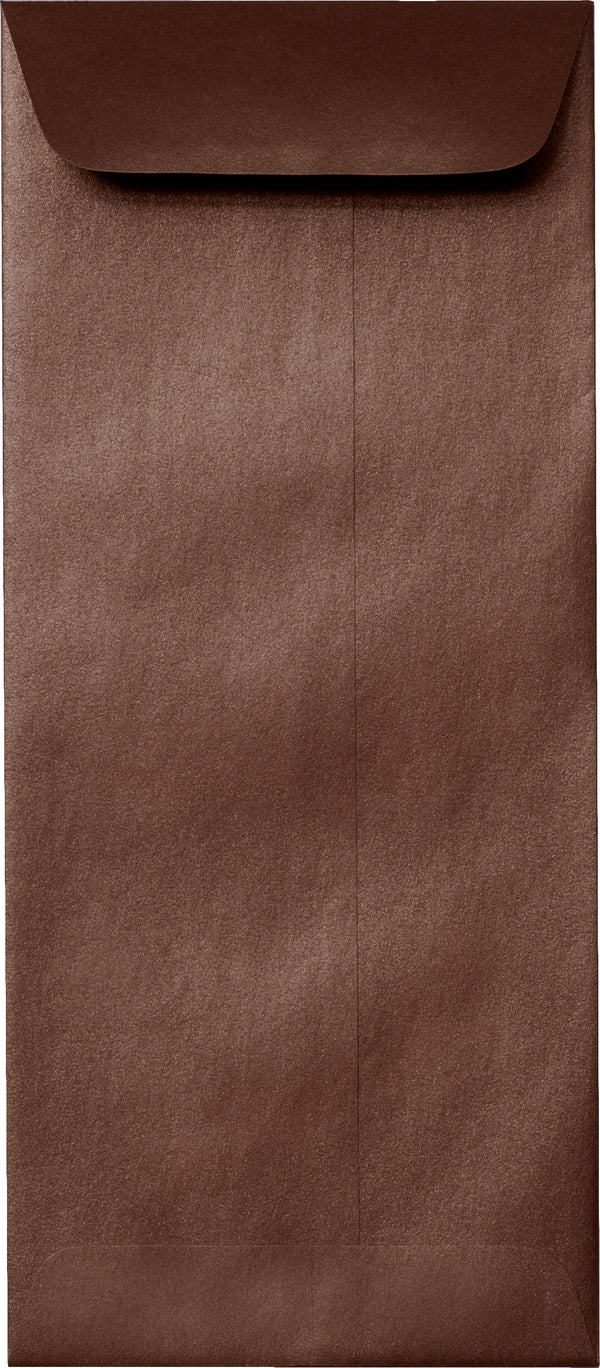 #10 Policy Bronze Brown Metallic Envelopes (4 1/8