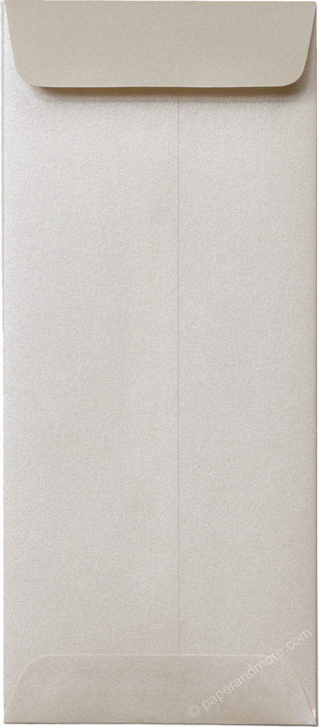 "#10 Policy Champagne Metallic Envelopes (4 1/8"" x 9 1/2"") - Paperandmore.com"