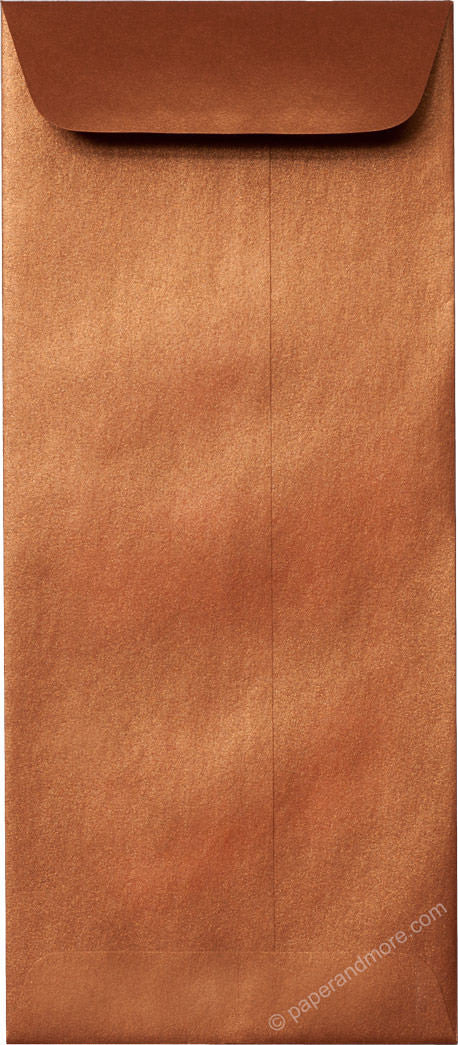"#10 Policy Copper Metallic Envelopes (4 1/8"" x 9 1/2"") - Paperandmore.com"