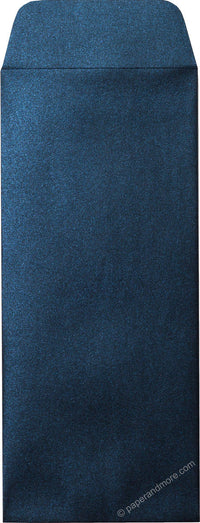 "#10 Policy Dark Blue Metallic Envelopes (4 1/8"" x 9 1/2"") - Paperandmore.com"