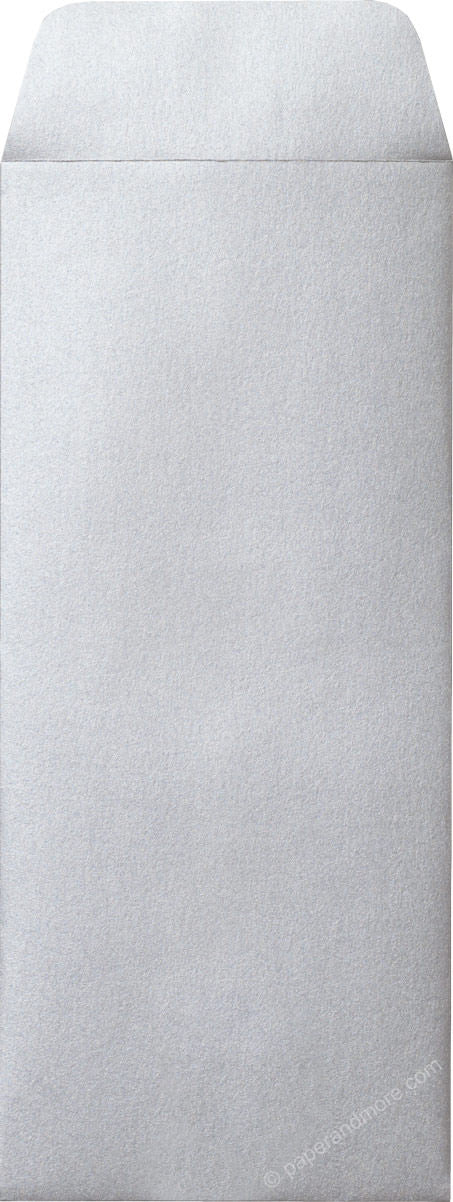 "#10 Policy Silver Metallic Envelopes (4 1/8"" x 9 1/2"")"