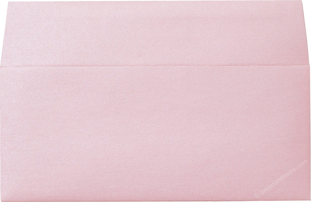 "#10 Rose Pink Metallic Envelopes (4 1/8"" x 9 1/2"")"
