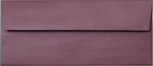 "#10 Ruby Purple Metallic Envelopes (4 1/8"" x 9 1/2"") - Paperandmore.com"