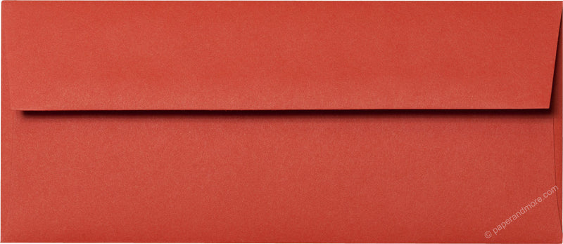 "#10 Sunset Orange Solid Envelopes (4 1/8"" x 9 1/2"") - Paperandmore.com"