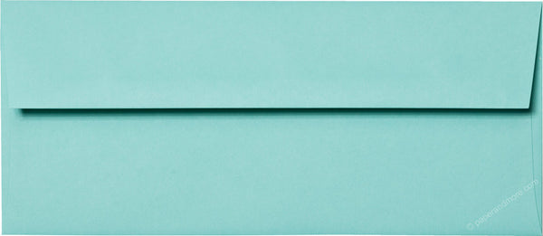 "#10 Tiffany Blue Solid Envelopes (4 1/8"" x 9 1/2"") - Paperandmore.com"